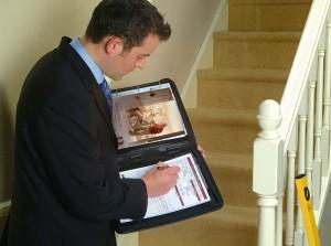 Stairlift Survey Being Undertaken