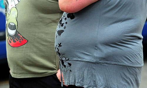Obesity is on the rise with increases in bad diet